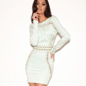 ad615cd3e46a House of CB Dresses - House of CB jacquard mint dress